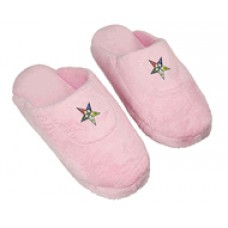 Order of Eastern Star Low Pro Stripe Slippers - pink