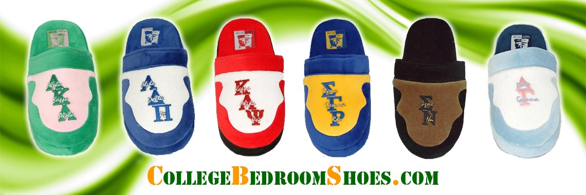 Fraternity and Sorority Slippers