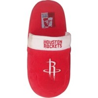 Houston Rockets Low Pro Stripe Slippers