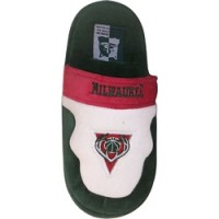 Milwaukee Bucks Low Pro Stripe Slippers