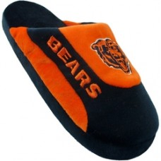 Chicago Bears Low Pro Stripe Slippers