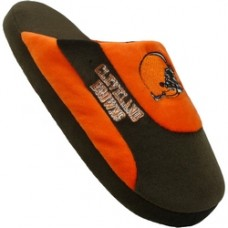 Cleveland Browns Low Pro Stripe Slippers