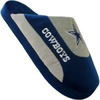 Dallas Cowboys Low Pro Stripe Slippers
