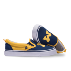University of Michigan Tennis Shoes - Slip Ons