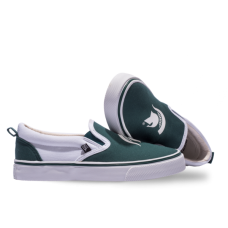 Michigan State Tennis Shoes - Slip Ons