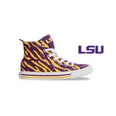 Louisiana State University High Top Tennis Shoes