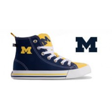 University of Michigan High Top Tennis Shoes