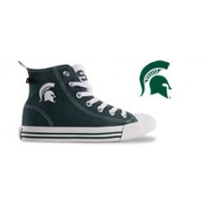 Michigan State University High Top Tennis Shoes