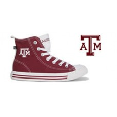 Texas A&M University High Top Tennis Shoes