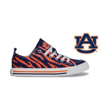 Auburn University Tennis Shoes - stripes